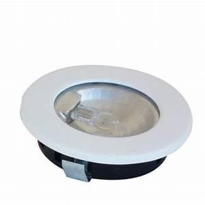 spot halogene plan de travail encastrable 12v accessoires With ampoule meuble salle de bain