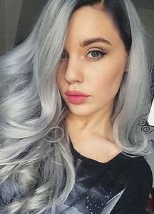 Gray Hair Color Ideas 2018 2019 Long Hair Tutorial