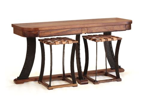 sofas tables and more sofa table with stools console table with 2 stools