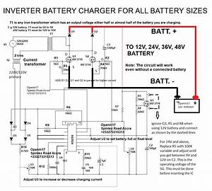 Battery Charger Using Scr Circuit Diagram