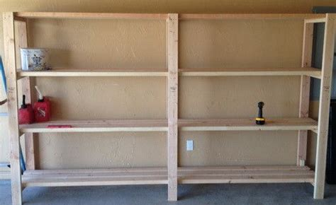 Garage Shelving Do It Yourself by Garage Shelves Diy How To Build A Shelving Unit With