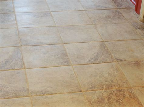 ceramic tile mesa beige  lowes   mocha grout