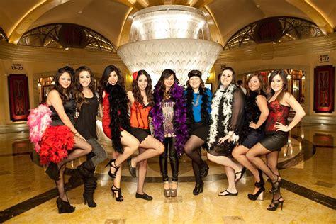 burlesque themed las vegas bachelorette party  mgm