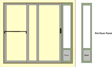 sliding glass door doggie door pet door services in albuquerque new mexico and the