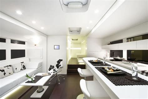 Luxury Living On Wheels 6 Stunning Rvs That Will Make You. Bar Carts. Colors That Go With Navy. Dream Bathrooms. Driveway Entrance. Desk Chairs. Wall Mount Toilets. Entrance Light Fixture. Cost To Finish Drywall