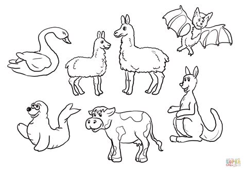 Is Your Mama A Llama Set Coloring Page Free Printable