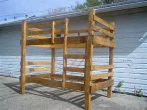 bunk bed plans pdf bed plans diy blueprints