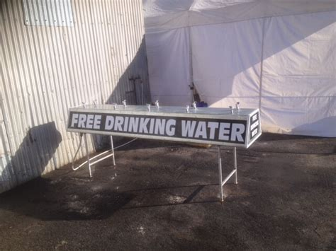 portable drinking stations rent  bathroom