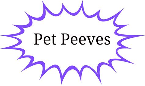 top ten pet peeves family education services