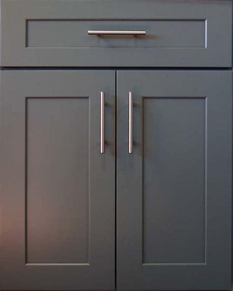dark grey shaker cabinets kitchen cabinet doors in orange county los angeles