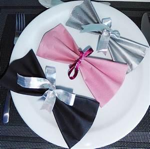 Pliage De Serviette Papillon : pliage de serviette de table en forme de noeud papillon r aliser un noeud papillon avec une ~ Melissatoandfro.com Idées de Décoration