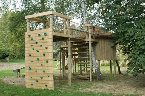 Climbing Walls For Treehouses, Adventures, Fun And Gardens