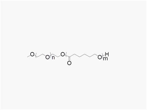 methoxy peg polycaprolactone block copolymer