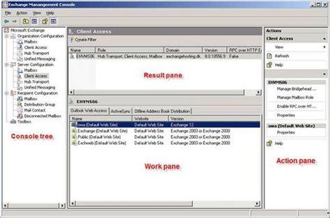 exchange management console install exchange 2010 management console on windows xp