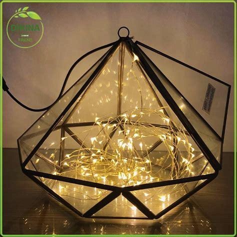 crystal geometric glass wedding centerpiece crystal lotus