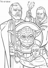Wars Star Print Coloring Pages Boys Movies sketch template