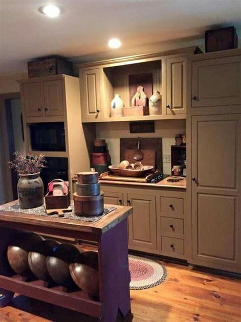 ideas primitive country kitchen decor simple