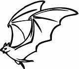 Bat Coloring Pages Flying Halloween Cartoon Drawing Bats Pumpkin Printable Baseball Print Animal Rip Getdrawings Coloringpagebook Getcolorings Advertisement sketch template