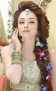 Amazing And Trendy Wedding Hairstyles For Pakistani Brides HairzStyle Com : HairzStyle
