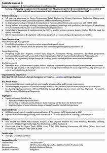 resume format for mechanical engineer with 1 year With resume samples for experienced mechanical engineers