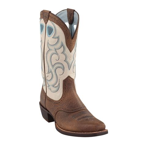 Blue Ariat Western Boots for Women