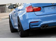 Yas Marina Blue BMW F80 M3 Gets Some Essential Updates