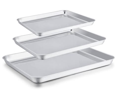 stainless steel cookie baking sheet toaster chef cyber announced monday deals been rated sheets pan oven toxic non pans tray