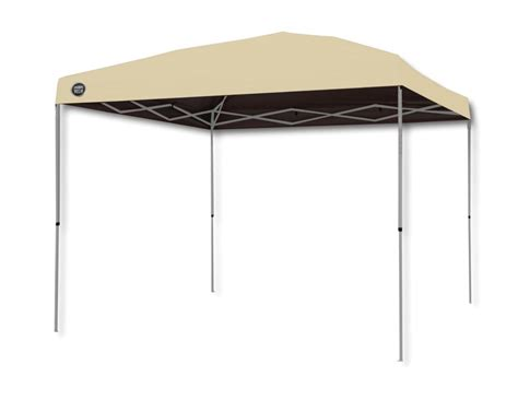 shade tech canopy shade tech 10 ft x 10 ft canopy in khaki the home