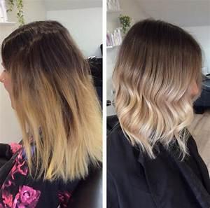 Ombre Hair Blond Polaire : cheveux voici la toute nouvelle tendance de blond confidentielles ~ Nature-et-papiers.com Idées de Décoration