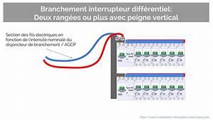 Section Fil Electrique : a propos du branchement de l 39 interrupteur diff rentiel ~ Melissatoandfro.com Idées de Décoration