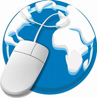 Internet Web Globe Mouse Earth Graphic Vector