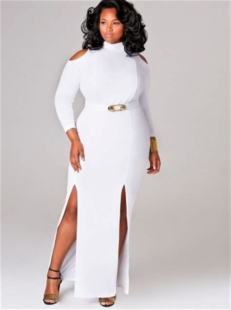 All White Plus Size Party Dresses Discount - FashionStyleMagz.com
