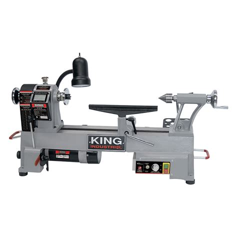 variable speed wood lathe king canada power
