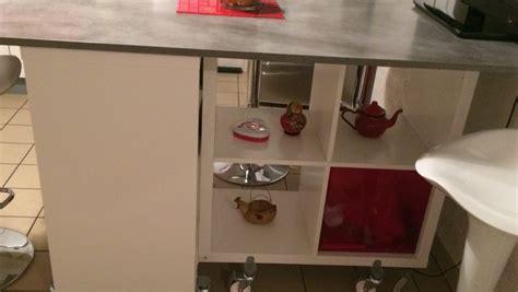 table lot de la cuisine de corine avec kallax with fabriquer sa cuisine en mdf