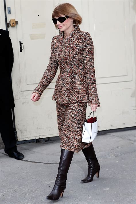 Anna Wintour | Fashion Insiders Style Breakdown | POPSUGAR ...