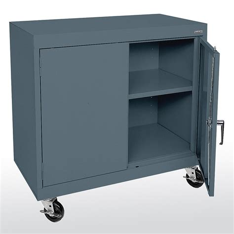 counter height storage cabinet sandusky cabinets ta11361830 ta11362430 mobile counter