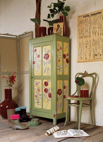 decoupage kitchen cabinet doors 17 best images about stenciled cabinet doors on 6513