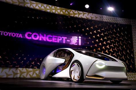 Toyota Ces 2017 by Geleceğin Otomobilleri Ces 2017 De ıtıldı