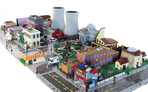 La Maison Des Lego by Cool Stuff Lego Simpsons Sets Combine To Make Springfield