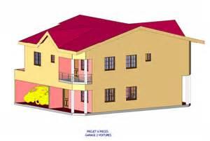 location appartement 4 chambres duplex 6 pièces et 2 garages entreprise de construction