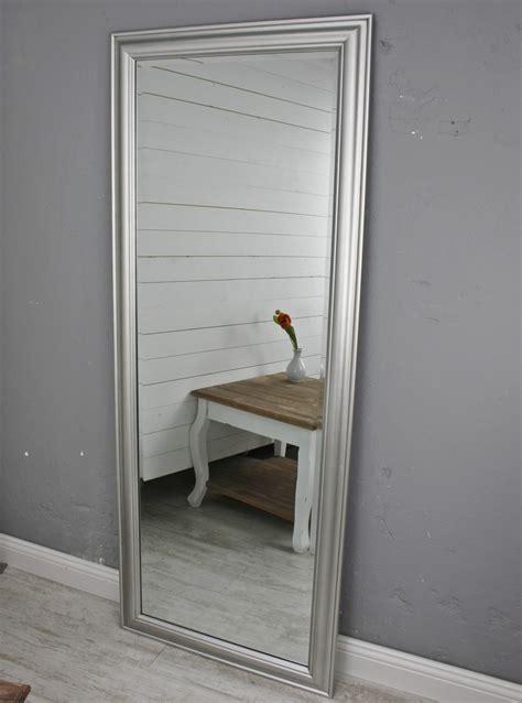 spiegel silber ikea spiegel 150 wandspiegel standspiegel silber holz landhaus holzrahmen badspiegel ebay