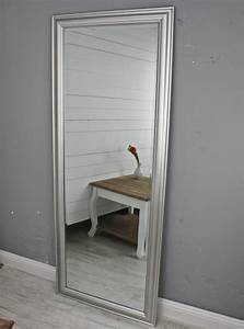 Großer Wandspiegel Silber : spiegel 150 wandspiegel standspiegel silber holz landhaus holzrahmen badspiegel ebay ~ Markanthonyermac.com Haus und Dekorationen