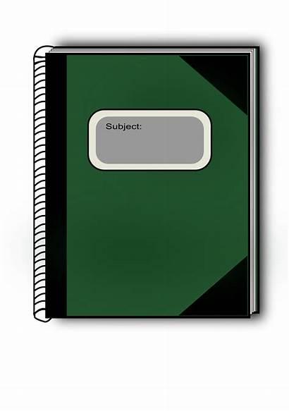 Subject Clip Clipart Publicdomainfiles Domain Copyright Notebook