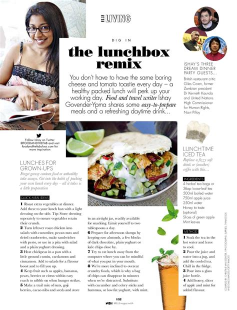 articles cuisine lunch box treats for sa food and the fabulous