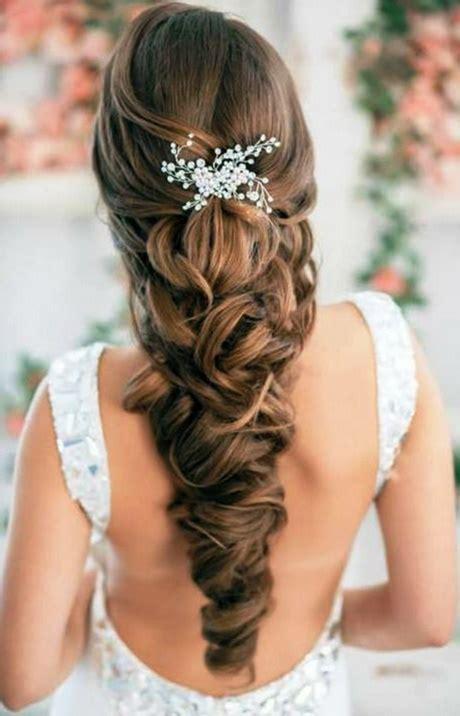 hochsteckfrisuren lange haare hochzeit