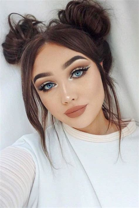 romantic hair  makeup ideas    valentines day fashion daily