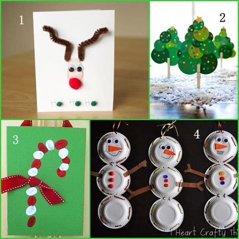 Simple Christmas Crafts  Happy Holidays