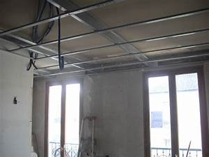 Faire Un Faux Plafond : comment faire un faux plafond sans se fixer sur l ancien ~ Premium-room.com Idées de Décoration