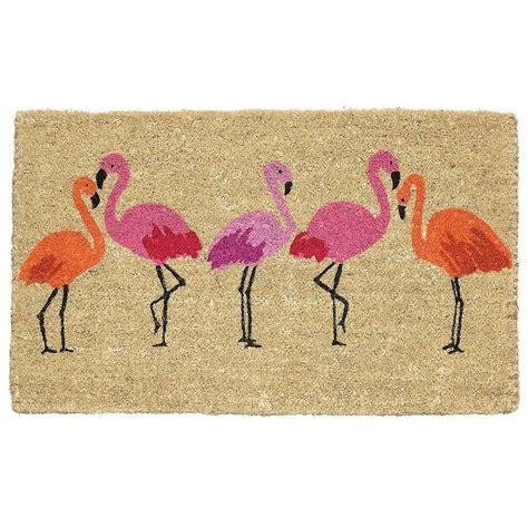 Flamingo Doormat by Flamingo Bay Summer Doormat Home Furniture