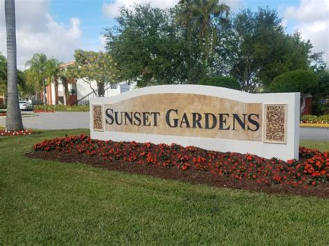 Apartments Sunset Miami by Sunset Gardens Apartments In Miami Florida